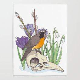 Hello, spring! Poster