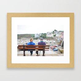 15. Fall in old love, Bretagne, France Framed Art Print