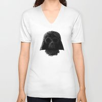 vader V-neck T-shirts featuring Vader by Zach Terrell