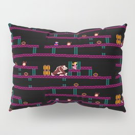 Donkey Kong Retro Arcade Gaming Design Pillow Sham