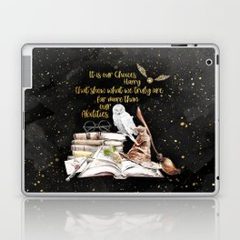 Our Choices - Golden Dust Laptop & iPad Skin