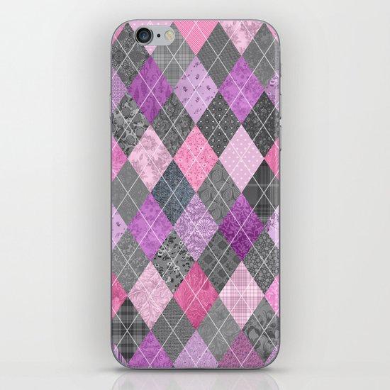 Magic Argyle Quilt iPhone & iPod Skin