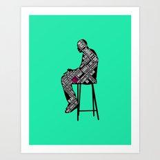The Decision Art Print