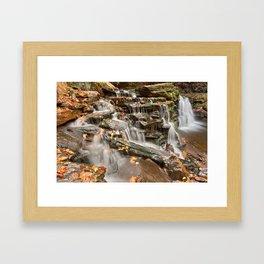 Cayuga Falls Framed Art Print