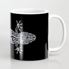 Ornate Lizard (b&w version) Mug