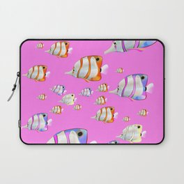 Tropical fish pink edition Laptop Sleeve