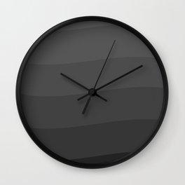 Six shades of gray. Wall Clock