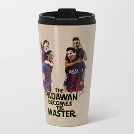 The Padawan Becomes The Master Travel Mug