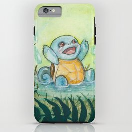 Squirtle's Puddle iPhone Case