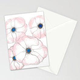Anemone Admiration // Floral Print Stationery Cards