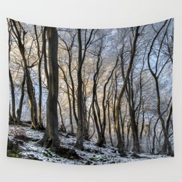Twisted Beech - II Wall Tapestry