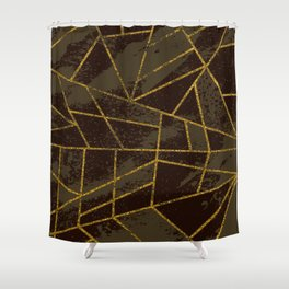 Abstract #941 Shower Curtain