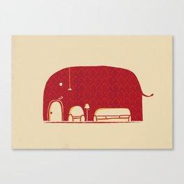 Elephanticus Roomious Canvas Print