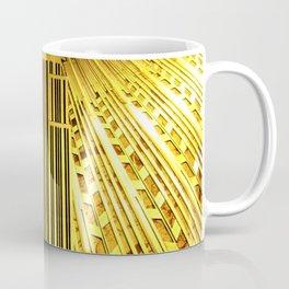 Empire State Building Lobby Art-Deco Sunburst Portrait Coffee Mug