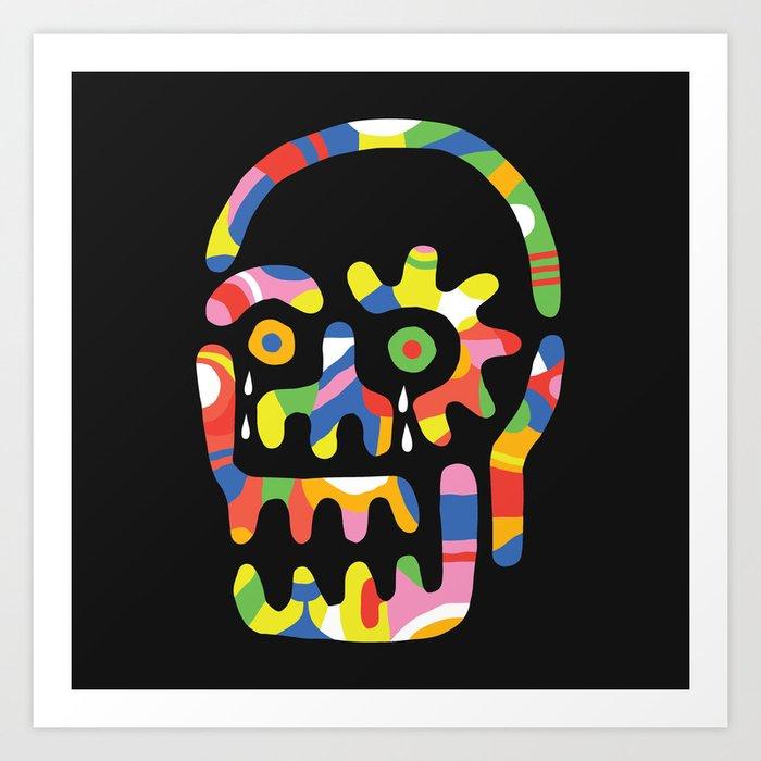 Party Skull Art Print