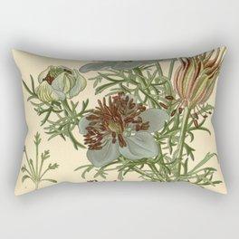 Spanish Fennel Flower Rectangular Pillow