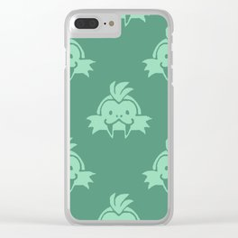 Sand Seals Clear iPhone Case