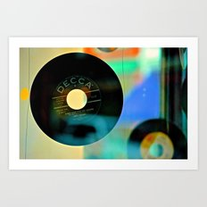 Nothing Sounds Like Vinyl Art Print
