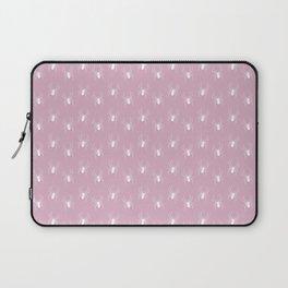 Pink Spider Pattern Laptop Sleeve