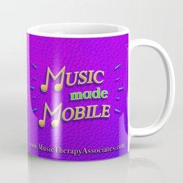 Music made Mobile (Yellow/Green) Coffee Mug