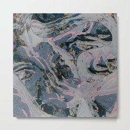 Looks like dreamy marble Metal Print