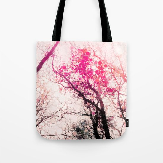 Tree Silhouette 2 Tote Bag