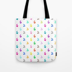 Rainbow cherries Tote Bag