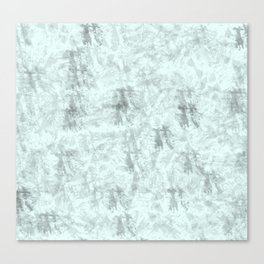 abstract blue and grey grunge background Canvas Print
