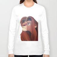 simba Long Sleeve T-shirts featuring Simba by Jgarciat