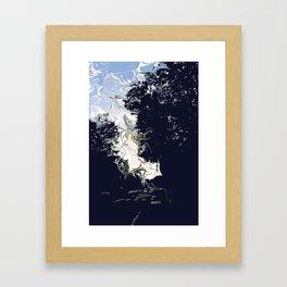 When Day Chokes the Night Framed Art Print