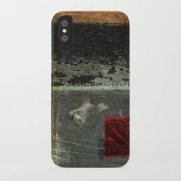 Everything is not okay iPhone Case