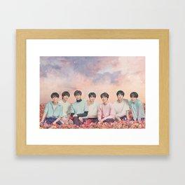 BTS Flower Tour - Bangtan Boys Framed Art Print