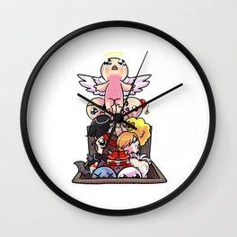 basement ascent Isaac Wall Clock