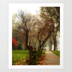 The Way Home Art Print