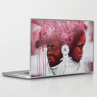 african Laptop & iPad Skins featuring African  by Sebastian Wandl