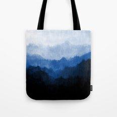 Mists - Blue Tote Bag