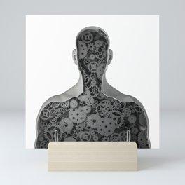 Clockwork human Mini Art Print