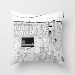 Alabama Barber Shop II Throw Pillow