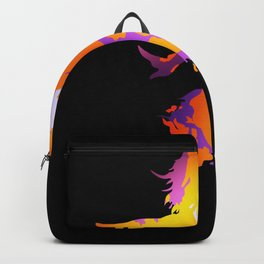 Emancipated woman power gift lucky Backpack