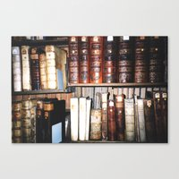 literature Canvas Prints featuring Art & Literature by czossi