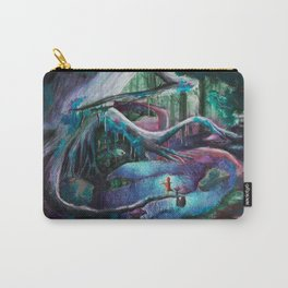 Psychedelic forest Carry-All Pouch