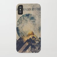 anna iPhone & iPod Cases featuring One mountain at a time by HappyMelvin