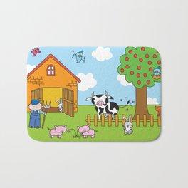 Farm Bath Mat