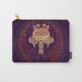 Owl Mandala Carry-All Pouch