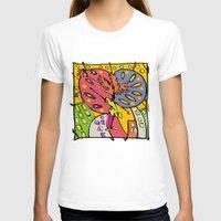 brasil T-shirts featuring Brasil by Ana Sanz Durán