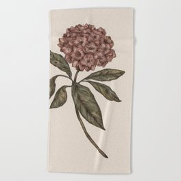 Mountain Laurel Beach Towel