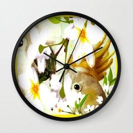 Cabsink16DesignerPatternBIP Wall Clock