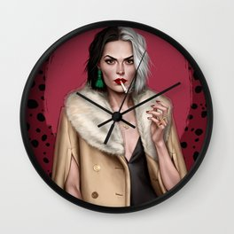 Cruella Wall Clock