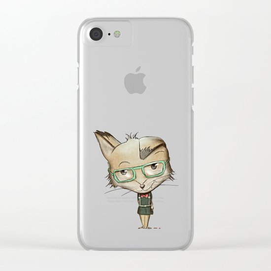 Innocent Fox? Clear iPhone Case