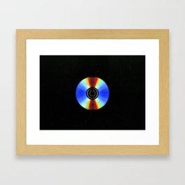 Data Media Framed Art Print